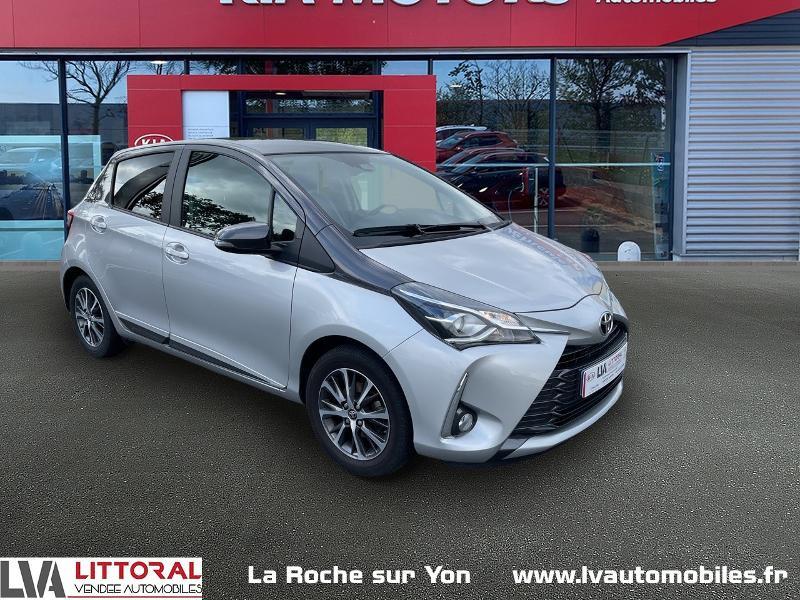 Toyota Yaris 70 VVT-i Design Y20 5p MY19 Essence GRIS CLAIR Occasion à vendre