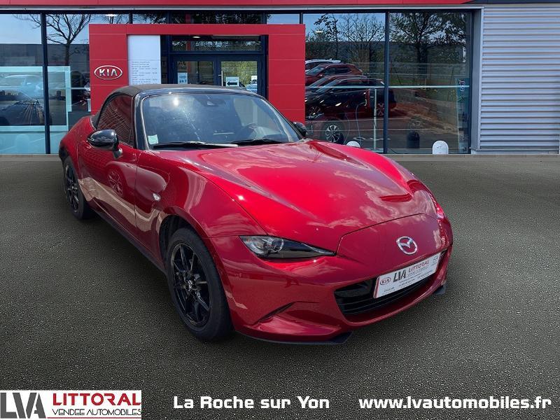 Mazda MX-5 1.5 SKYACTIV-G 132ch Dynamique Euro6d-T Essence SOUL RED Occasion à vendre