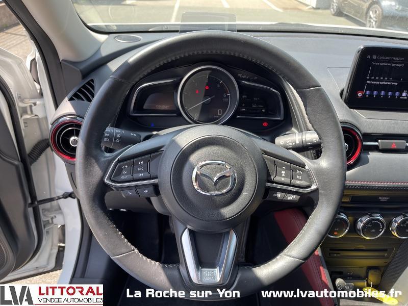 Photo 6 de l'offre de MAZDA CX-3 1.5 SKYACTIV-D 105 Sélection à 14990€ chez Littoral Vendée Automobiles Mouilleron Le Captif