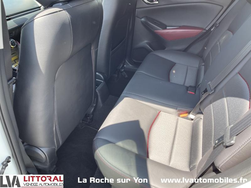 Photo 12 de l'offre de MAZDA CX-3 1.5 SKYACTIV-D 105 Sélection à 14990€ chez Littoral Vendée Automobiles Mouilleron Le Captif