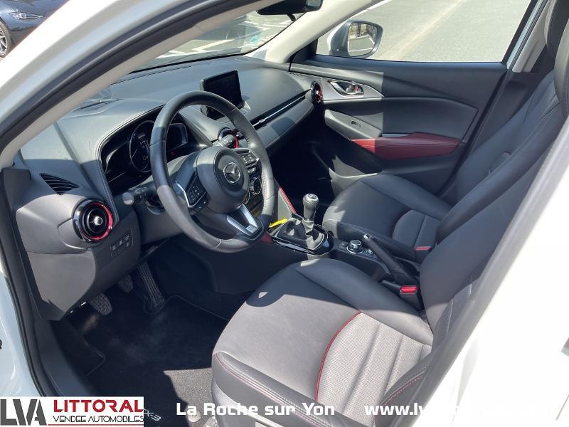 Photo 4 de l'offre de MAZDA CX-3 1.5 SKYACTIV-D 105 Sélection à 14990€ chez Littoral Vendée Automobiles Mouilleron Le Captif