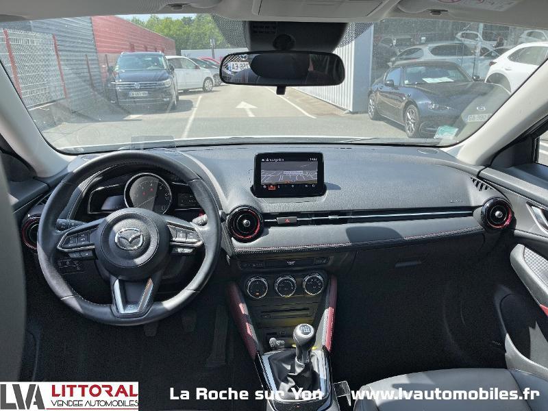 Photo 11 de l'offre de MAZDA CX-3 1.5 SKYACTIV-D 105 Sélection à 14990€ chez Littoral Vendée Automobiles Mouilleron Le Captif