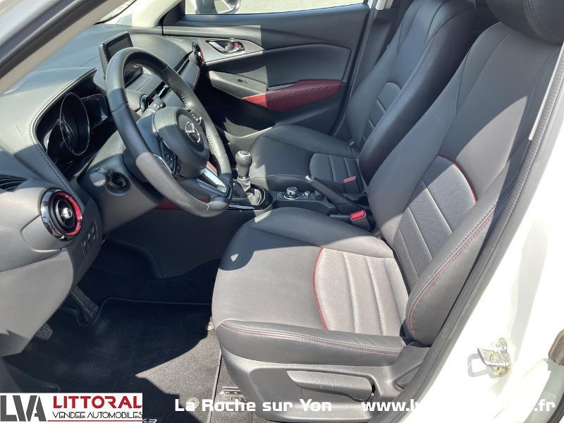 Photo 5 de l'offre de MAZDA CX-3 1.5 SKYACTIV-D 105 Sélection à 14990€ chez Littoral Vendée Automobiles Mouilleron Le Captif