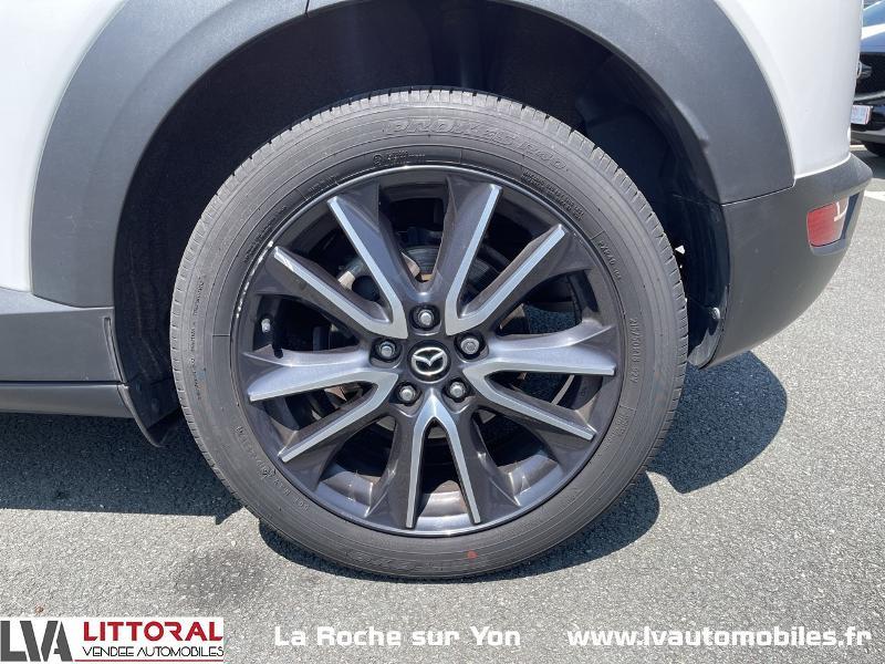 Photo 14 de l'offre de MAZDA CX-3 1.5 SKYACTIV-D 105 Sélection à 14990€ chez Littoral Vendée Automobiles Mouilleron Le Captif