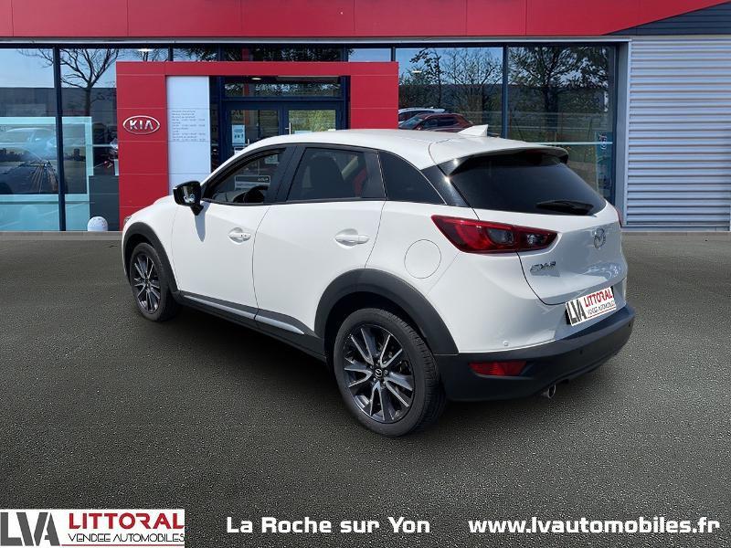 Photo 3 de l'offre de MAZDA CX-3 1.5 SKYACTIV-D 105 Sélection à 14990€ chez Littoral Vendée Automobiles Mouilleron Le Captif