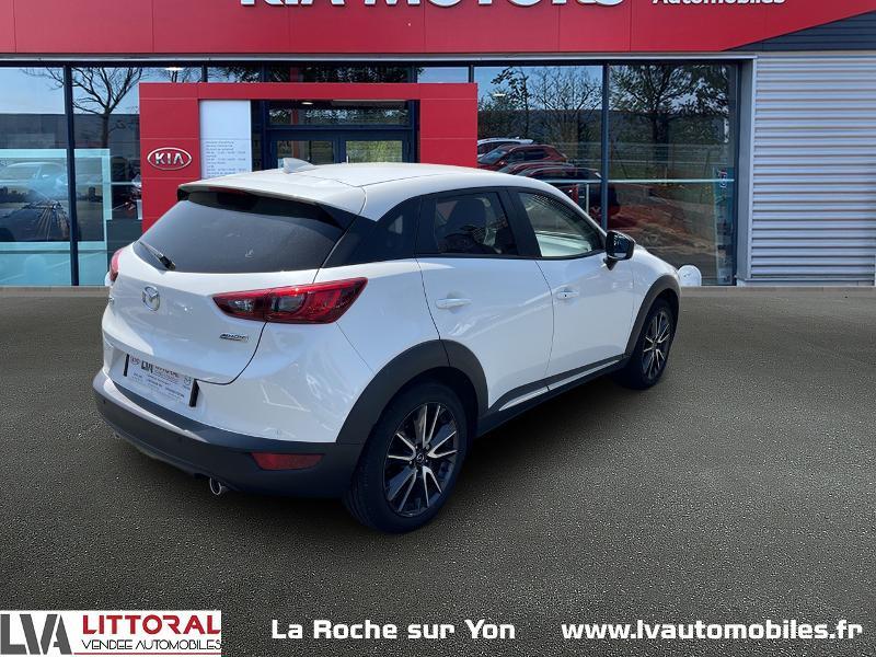 Photo 2 de l'offre de MAZDA CX-3 1.5 SKYACTIV-D 105 Sélection à 14990€ chez Littoral Vendée Automobiles Mouilleron Le Captif