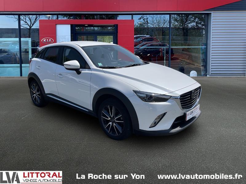 Photo 1 de l'offre de MAZDA CX-3 1.5 SKYACTIV-D 105 Sélection à 14990€ chez Littoral Vendée Automobiles Mouilleron Le Captif