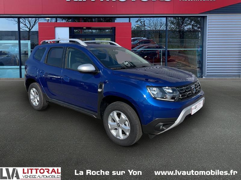 Dacia Duster 1.5 Blue dCi 115ch Confort 4x2 Diesel BLEU IRON Occasion à vendre