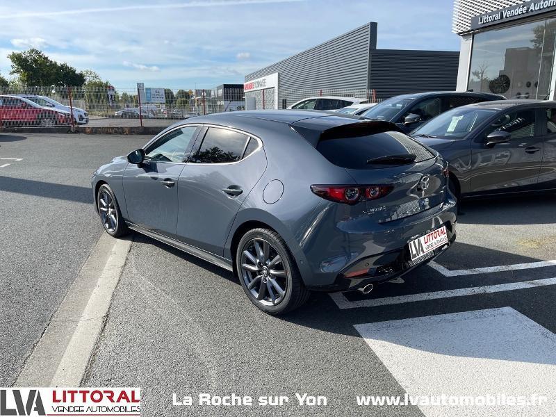 Photo 6 de l'offre de MAZDA Mazda 3 2.0 e-Skyactiv-G M-Hybrid 122ch Sportline BVA à 29990€ chez Littoral Vendée Automobiles Mouilleron Le Captif