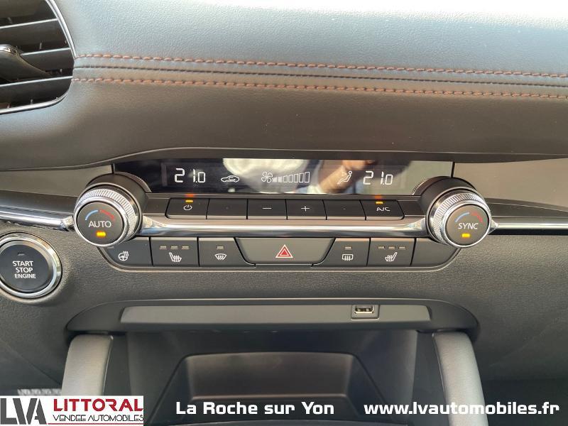 Photo 12 de l'offre de MAZDA Mazda 3 2.0 e-Skyactiv-G M-Hybrid 122ch Sportline BVA à 29990€ chez Littoral Vendée Automobiles Mouilleron Le Captif