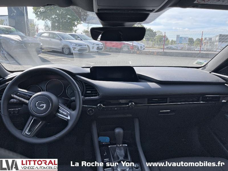Photo 7 de l'offre de MAZDA Mazda 3 2.0 e-Skyactiv-G M-Hybrid 122ch Sportline BVA à 29990€ chez Littoral Vendée Automobiles Mouilleron Le Captif