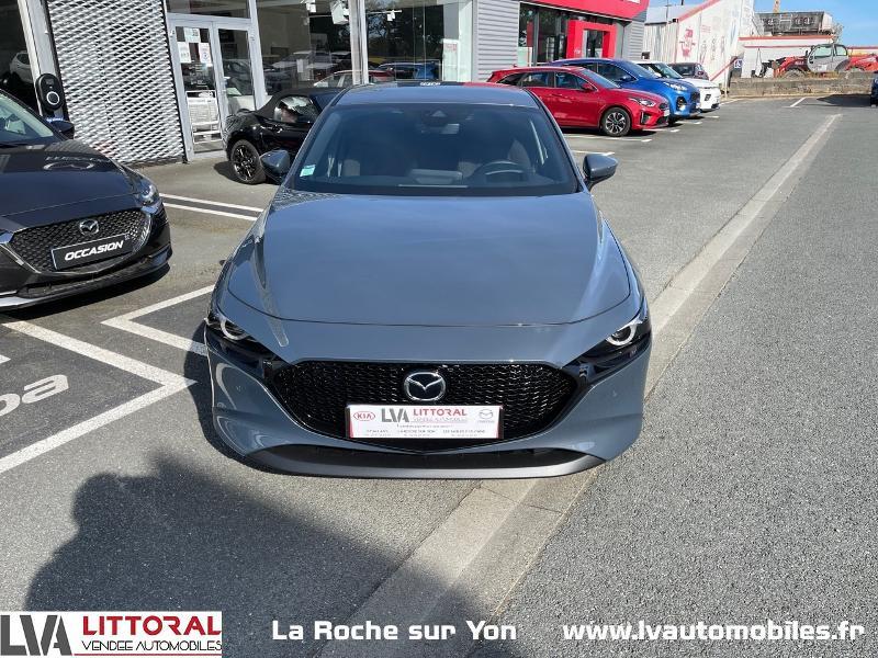 Photo 2 de l'offre de MAZDA Mazda 3 2.0 e-Skyactiv-G M-Hybrid 122ch Sportline BVA à 29990€ chez Littoral Vendée Automobiles Mouilleron Le Captif
