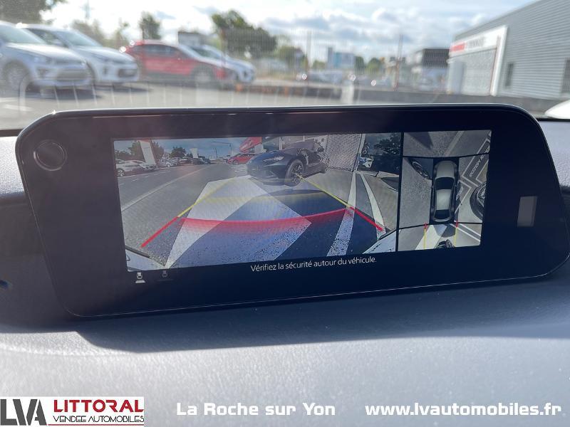 Photo 14 de l'offre de MAZDA Mazda 3 2.0 e-Skyactiv-G M-Hybrid 122ch Sportline BVA à 29990€ chez Littoral Vendée Automobiles Mouilleron Le Captif