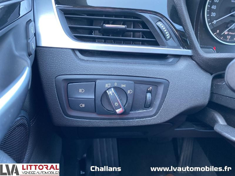 Photo 17 de l'offre de BMW X1 xDrive20dA 190ch xLine à 28990€ chez Littoral Vendée Automobiles Mouilleron Le Captif