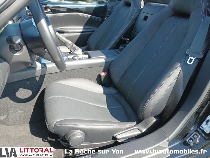 Photo 8 de l'offre de MAZDA MX-5 RF 1.5 SKYACTIV-G 132ch Sélection Euro6d-T Evap 2020 à 33490€ chez Littoral Vendée Automobiles Mouilleron Le Captif