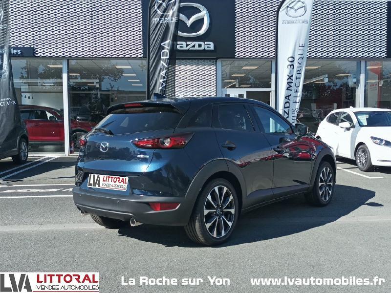 Photo 6 de l'offre de MAZDA CX-3 2.0 SKYACTIV-G 121ch Signature 2021 à 22990€ chez Littoral Vendée Automobiles Mouilleron Le Captif