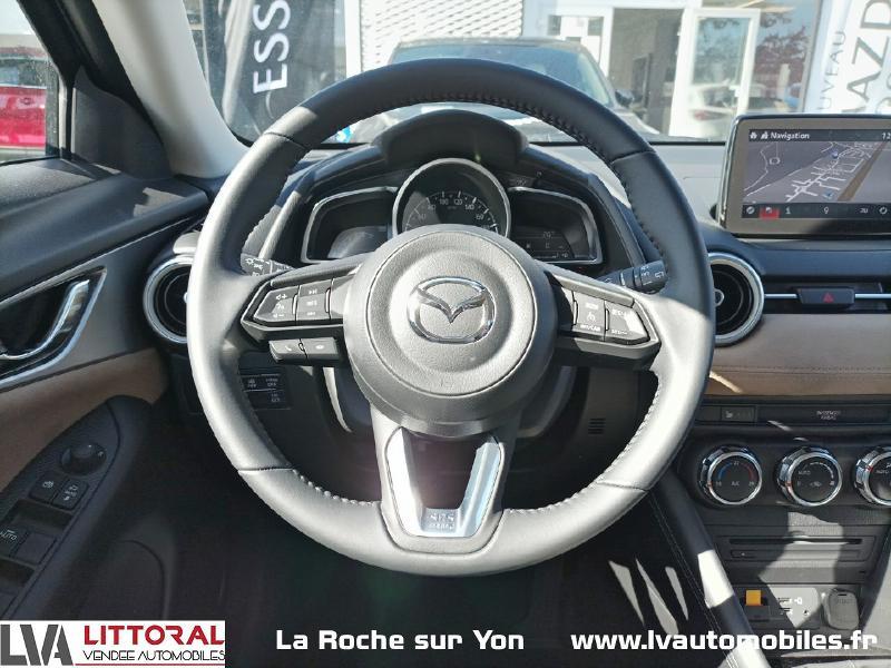 Photo 10 de l'offre de MAZDA CX-3 2.0 SKYACTIV-G 121ch Signature 2021 à 22990€ chez Littoral Vendée Automobiles Mouilleron Le Captif
