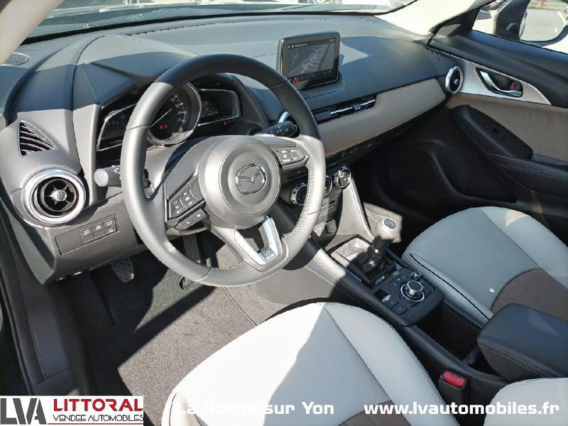 Photo 13 de l'offre de MAZDA CX-3 2.0 SKYACTIV-G 121ch Signature 2021 à 22990€ chez Littoral Vendée Automobiles Mouilleron Le Captif