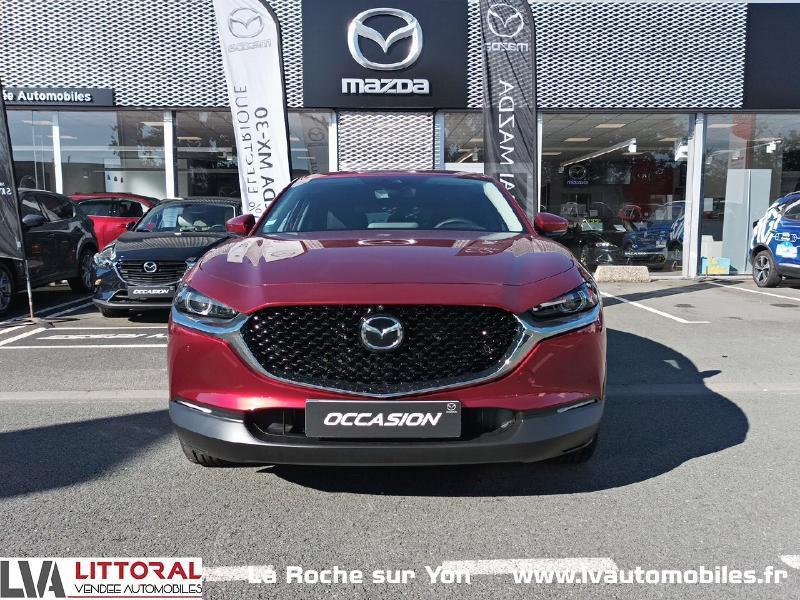 Photo 2 de l'offre de MAZDA CX-30 2.0 Skyactiv-X M-Hybrid 186ch Sportline BVA 2021 à 33490€ chez Littoral Vendée Automobiles Mouilleron Le Captif