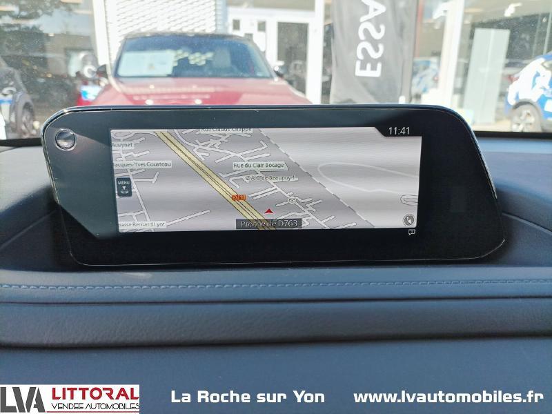 Photo 13 de l'offre de MAZDA CX-30 2.0 Skyactiv-X M-Hybrid 186ch Sportline BVA 2021 à 33490€ chez Littoral Vendée Automobiles Mouilleron Le Captif