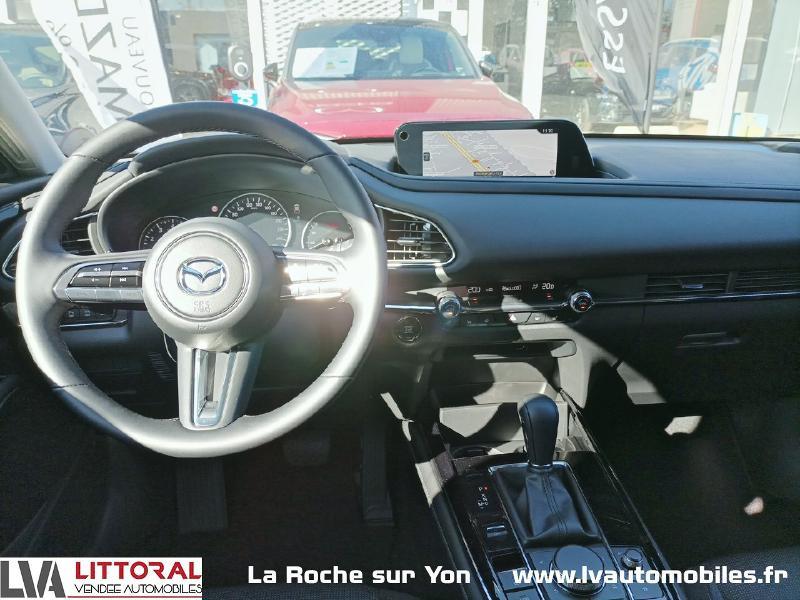 Photo 7 de l'offre de MAZDA CX-30 2.0 Skyactiv-X M-Hybrid 186ch Sportline BVA 2021 à 33490€ chez Littoral Vendée Automobiles Mouilleron Le Captif