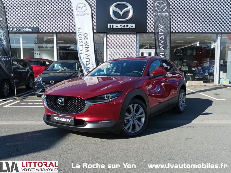 Mazda CX-30 2.0 Skyactiv-X M-Hybrid 186ch Sportline BVA 2021 Essence Soul Red Crystal Neuf à vendre
