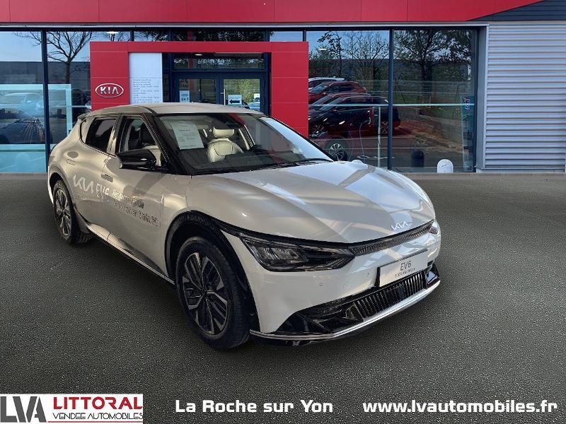 Kia EV6 Design 229ch 2WD Electrique Blanc Métal Neuf à vendre