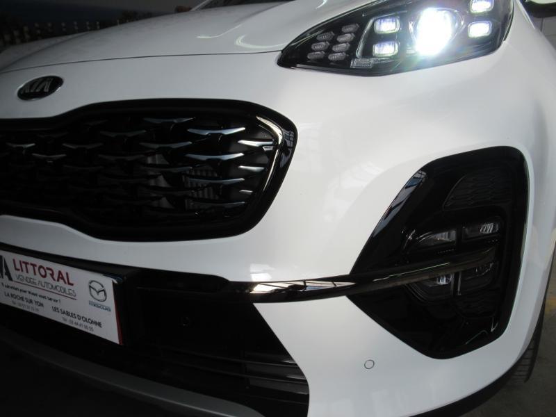 Photo 28 de l'offre de KIA Sportage 1.6 CRDi 136ch MHEV GT Line Premium 4x2 DCT7 à 33990€ chez Littoral Vendée Automobiles Le Château D'Olonne