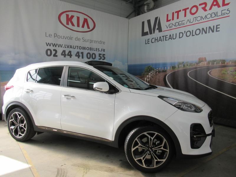 Kia Sportage 1.6 CRDi 136ch MHEV GT Line Premium 4x2 DCT7 Diesel BLANC NACRE Neuf à vendre