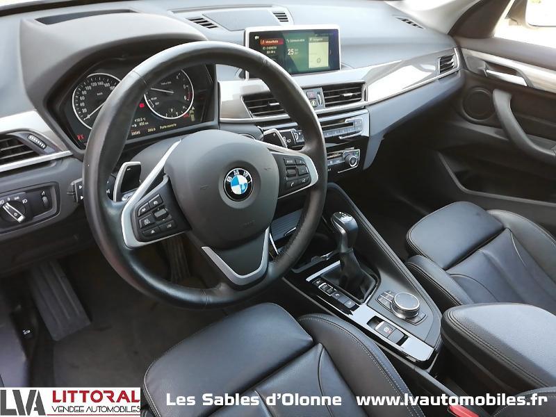 Photo 4 de l'offre de BMW X1 xDrive18dA 150ch xLine à 28490€ chez Littoral Vendée Automobiles Le Château D'Olonne