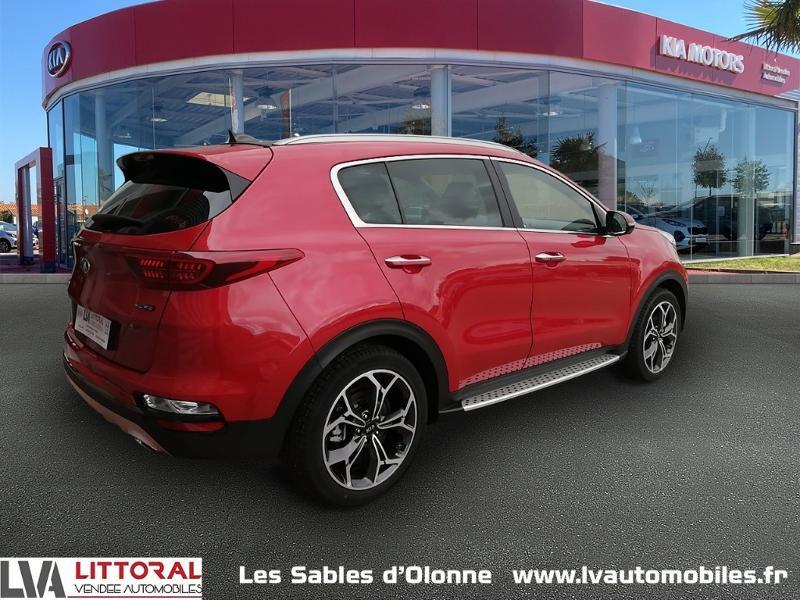 Photo 2 de l'offre de KIA Sportage 1.6 CRDi 136ch MHEV GT Line Premium 4x2 DCT7 à 35490€ chez Littoral Vendée Automobiles Le Château D'Olonne