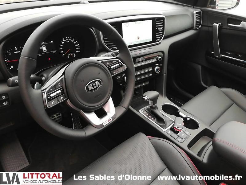Photo 4 de l'offre de KIA Sportage 1.6 CRDi 136ch MHEV GT Line Premium 4x2 DCT7 à 35490€ chez Littoral Vendée Automobiles Le Château D'Olonne