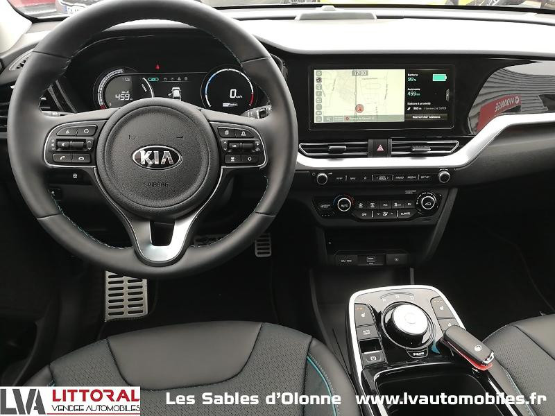 Photo 11 de l'offre de KIA e-Niro Premium 204ch à 35990€ chez Littoral Vendée Automobiles Le Château D'Olonne