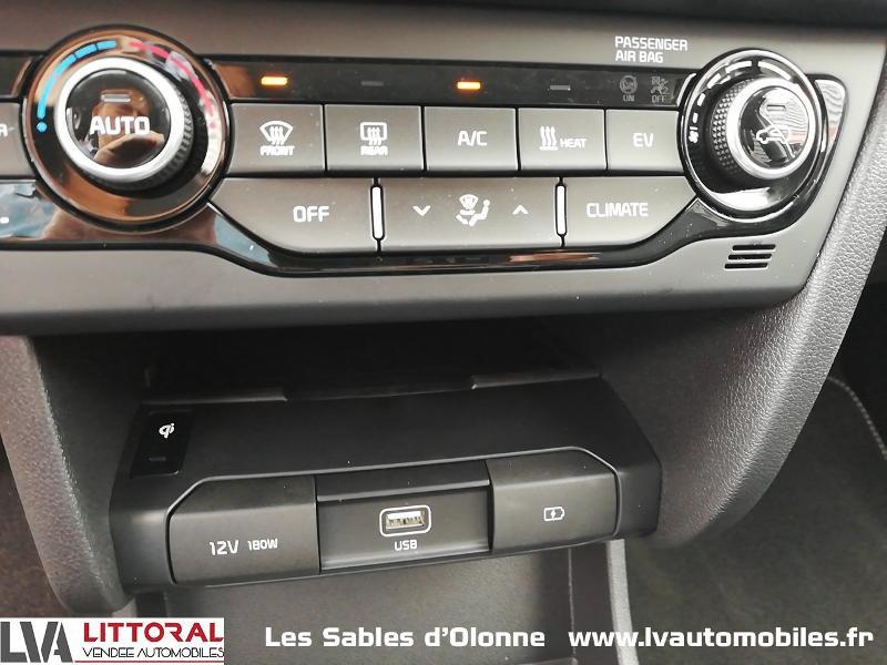 Photo 8 de l'offre de KIA e-Niro Premium 204ch à 35990€ chez Littoral Vendée Automobiles Le Château D'Olonne
