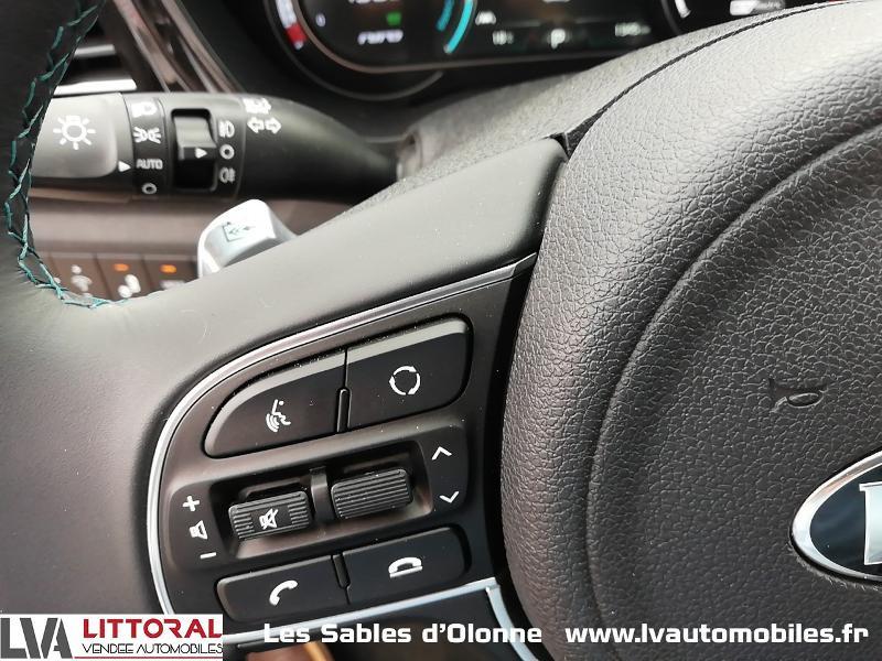 Photo 17 de l'offre de KIA e-Niro Premium 204ch à 35990€ chez Littoral Vendée Automobiles Le Château D'Olonne