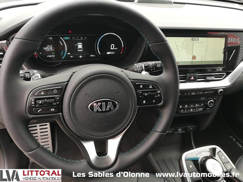 Photo 6 de l'offre de KIA e-Niro Premium 204ch à 35990€ chez Littoral Vendée Automobiles Le Château D'Olonne