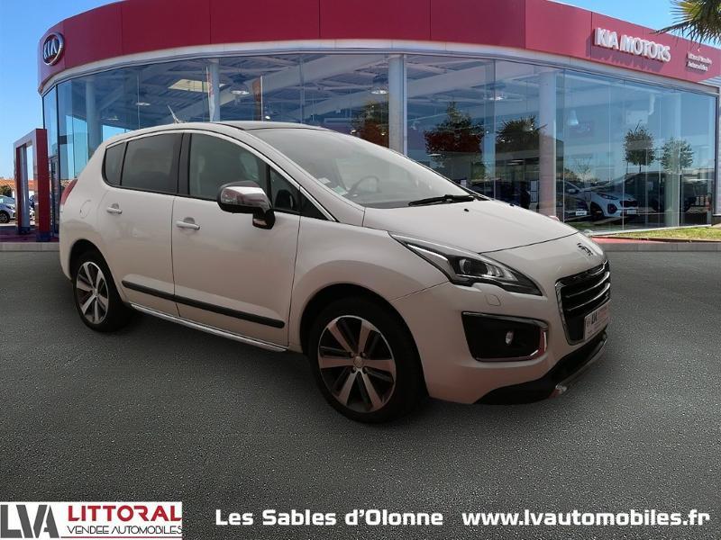 Peugeot 3008 1.6 THP 16v 165ch Féline S&S EAT6 Essence BLANC Occasion à vendre