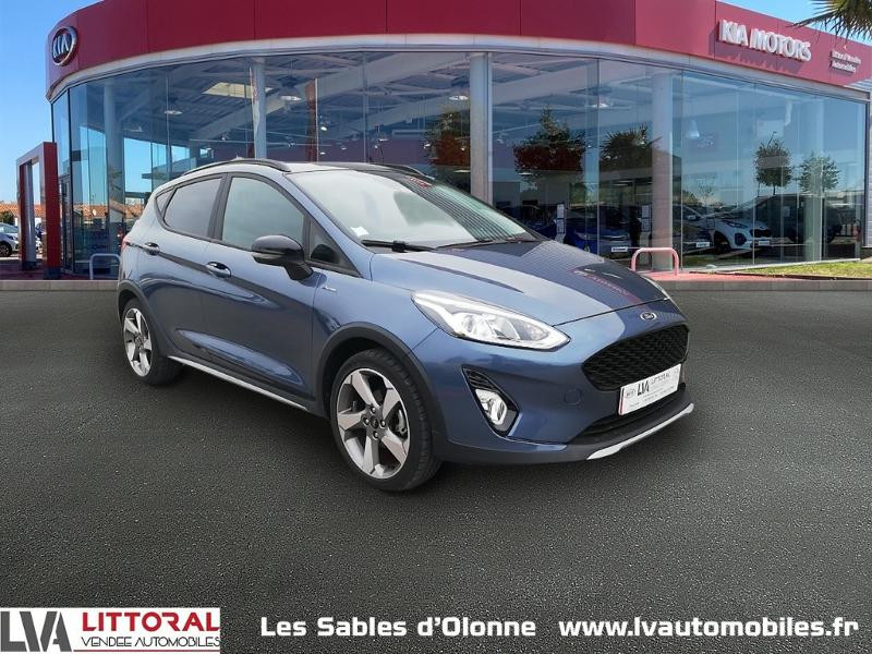 Ford Fiesta Active 1.0 EcoBoost 100ch S&S Euro6.2 Essence BLEU FONCE Occasion à vendre