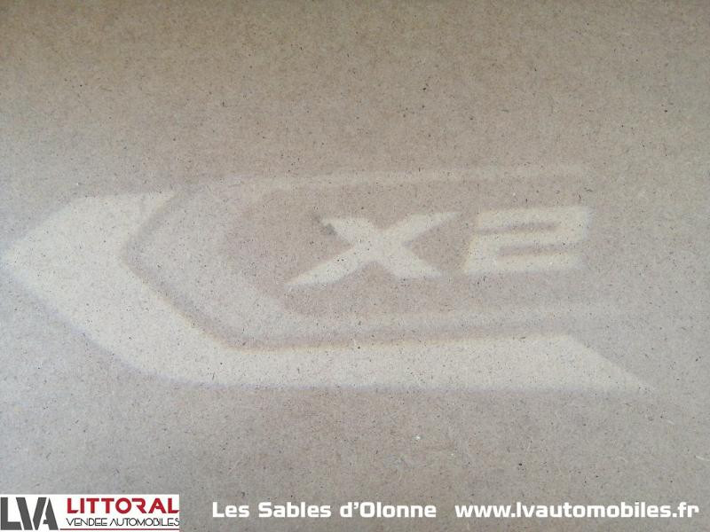 Photo 19 de l'offre de BMW X2 sDrive18dA 150ch M Sport Euro6d-T à 35490€ chez Littoral Vendée Automobiles Le Château D'Olonne