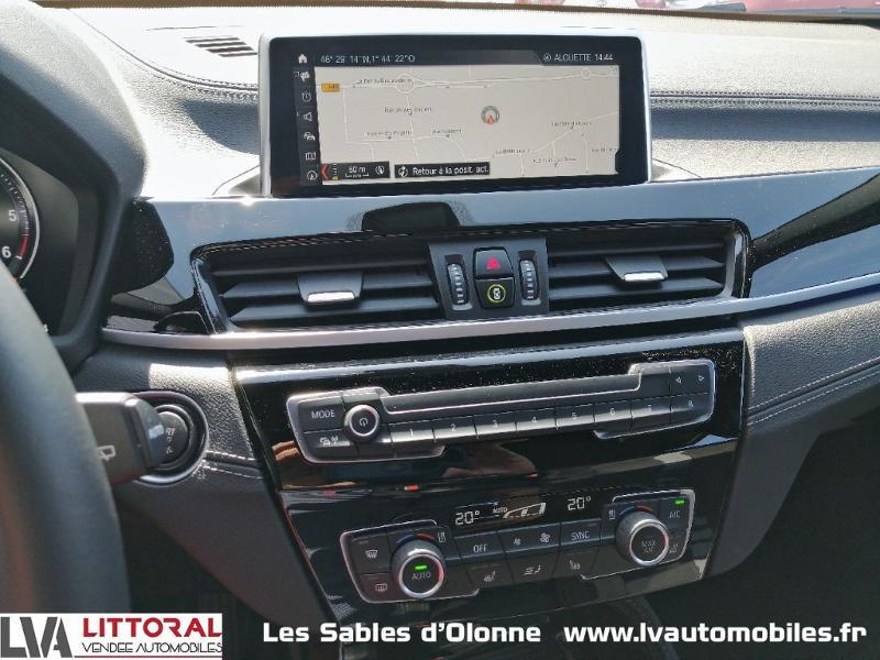 Photo 9 de l'offre de BMW X2 sDrive18dA 150ch M Sport Euro6d-T à 35490€ chez Littoral Vendée Automobiles Le Château D'Olonne