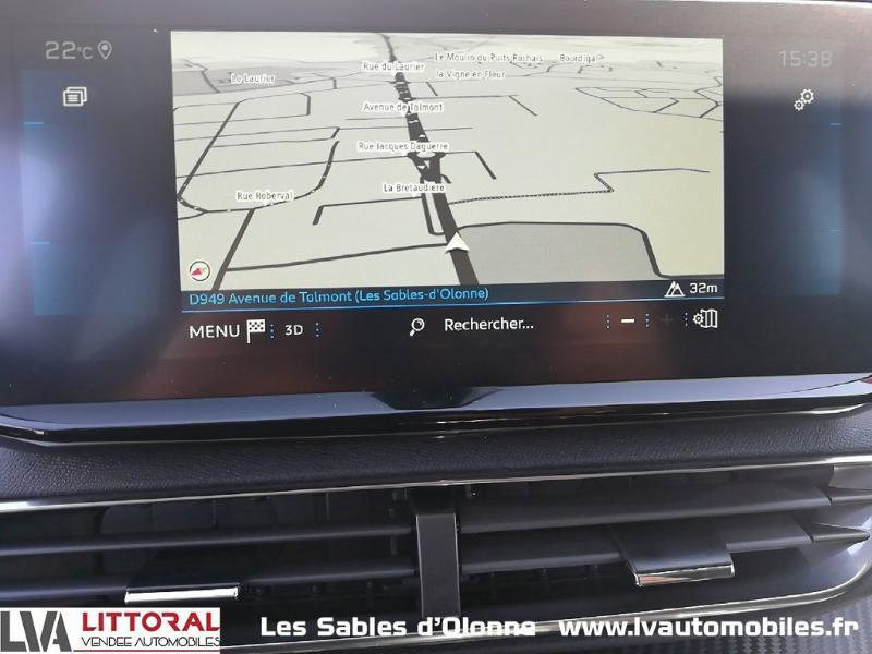 Photo 10 de l'offre de PEUGEOT 5008 1.5 BlueHDi 130ch E6.c Allure S&S EAT8 à 34990€ chez Littoral Vendée Automobiles Le Château D'Olonne