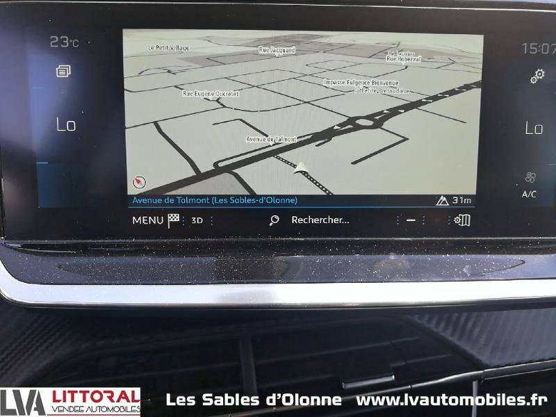 Photo 10 de l'offre de PEUGEOT 2008 1.2 PureTech 130ch S&S Allure Pack EAT8 à 27990€ chez Littoral Vendée Automobiles Le Château D'Olonne