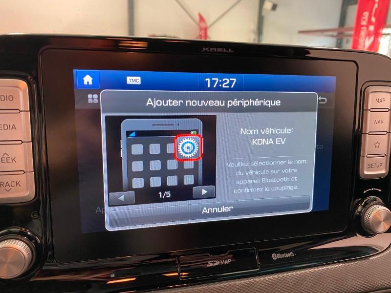 Photo 10 de l'offre de HYUNDAI Kona Electric 204ch Creative Euro6d-T EVAP à 25990€ chez Littoral Vendée Automobiles Le Château D'Olonne