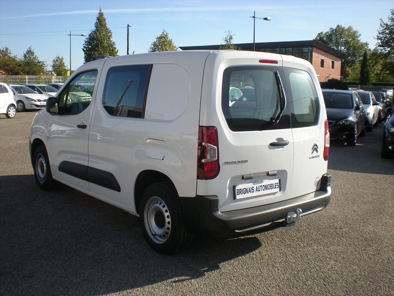 Photo 4 de l'offre de CITROEN BERLINGO VAN M 650KG BLUEHDI 75 CLUB à 18400€ chez Brignais automobiles