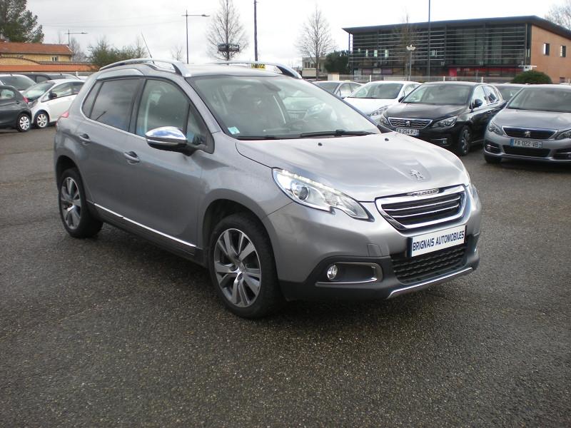 Peugeot 2008 1.6 BLUEHDI 100CH FELINE TITANE Diesel GRIS Occasion à vendre