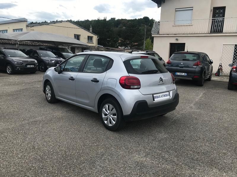 Photo 4 de l'offre de CITROEN C3 BLUEHDI 75CH LIVE S&S 83G à 10900€ chez Brignais automobiles