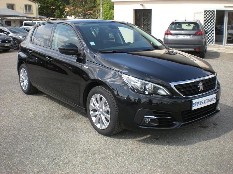 Peugeot 308 1.2 PURETECH 110CH E6.C S&S STYLE Essence NOIR Occasion à vendre