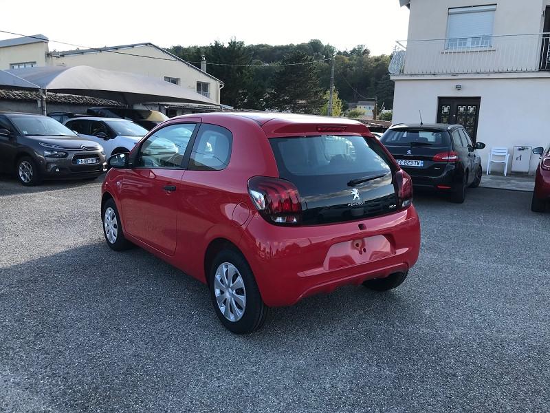 Photo 4 de l'offre de PEUGEOT 108 VTI 72 LIKE S&S 85G 5P à 10500€ chez Brignais automobiles
