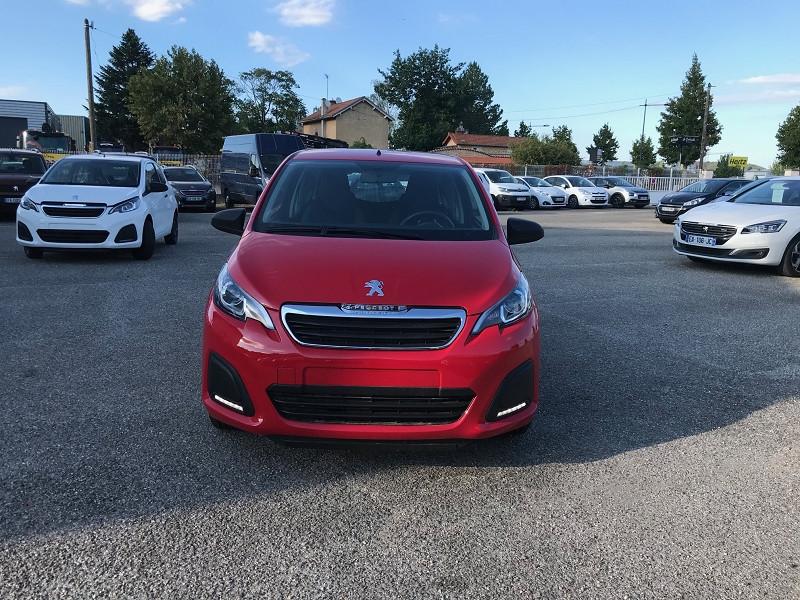 Photo 2 de l'offre de PEUGEOT 108 VTI 72 LIKE S&S 85G 5P à 10500€ chez Brignais automobiles