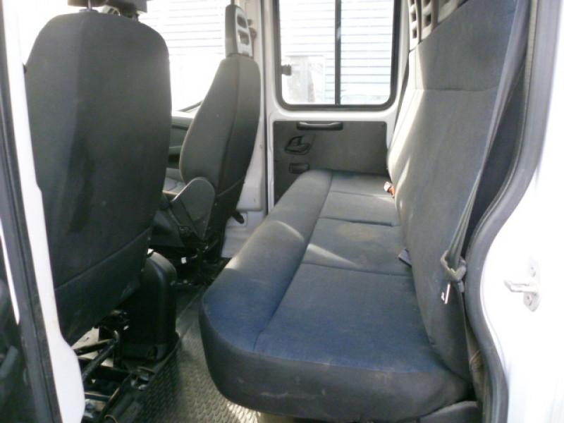 Photo 6 de l'offre de IVECO DAILY CCB 35C14 EMP 3450 DOUBLE CABINE 6PL BENNE + COFFRE à 28680€ chez Brignais automobiles